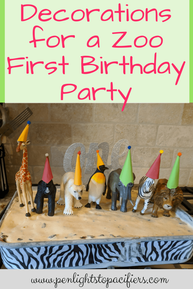 The Complete Guide To A Zoo Themed Party Decorations Penlights to