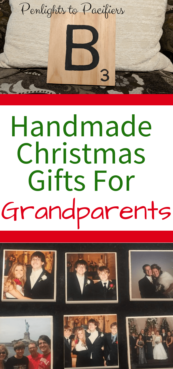 nothing is better than a diy gift to give to grandparents on christmas this list